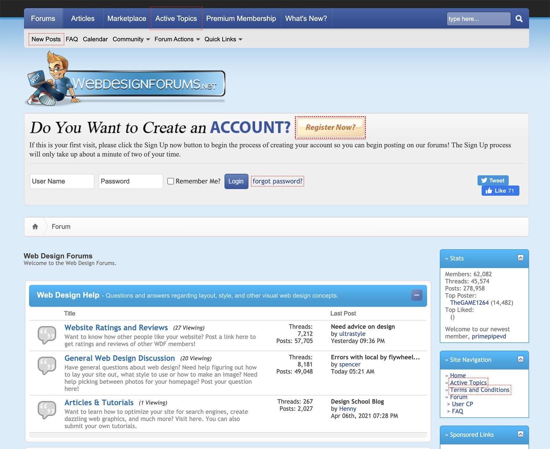 Webdesignforums.net