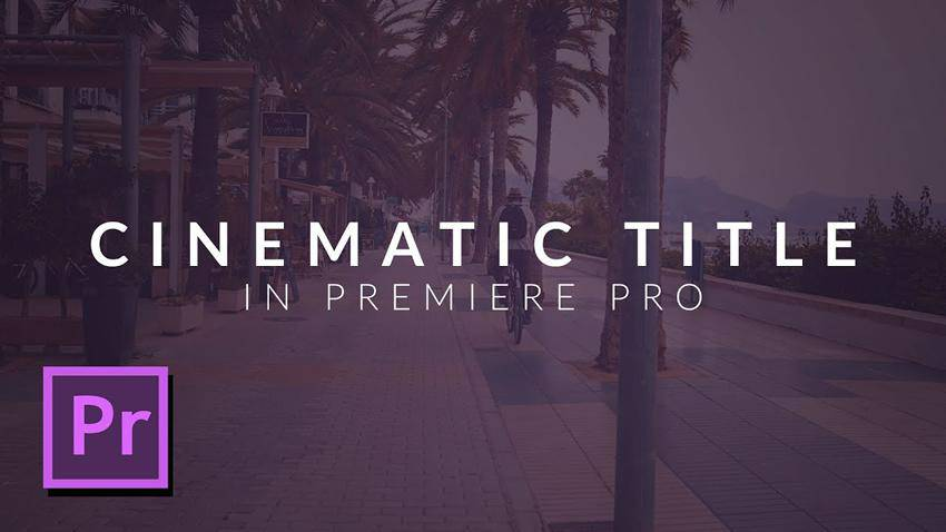 How to Create a Clean Cinematic Animation Title
