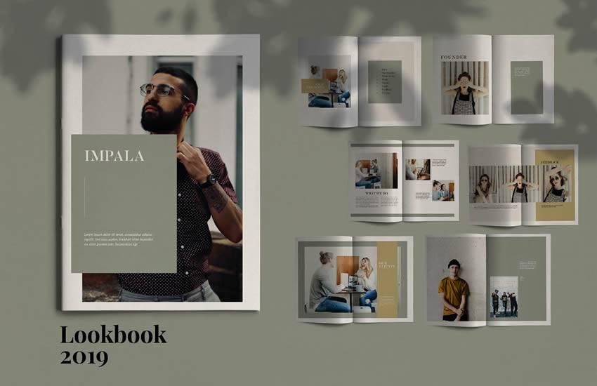 Impala brochure business template format